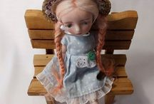 Bisque french doll