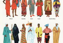 world traditional clothes