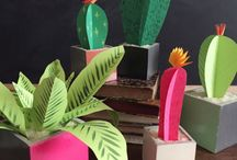 plant van papier