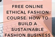 Ethical Fashion Courses