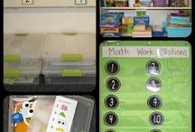 Math Work Station / by Dianne Davis