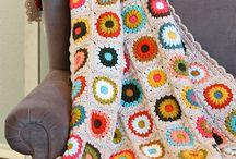 Afghan Blanket Granny Square