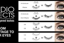 Ardell Studio Effects Lashes / Custom Layered Lashes - From BackStage to Your Eyes! => http://bit.ly/studioeffects