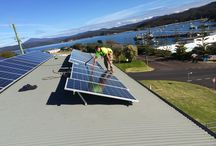 Our Solar Installations / The Empyreal Energy team proud of their installations!