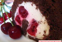 RULADE / retete de rulade cu fructe, ciocolata sau frisca