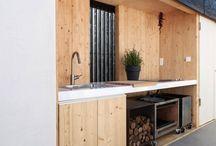 Outdoor kitchen / Buiten leven