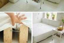 Sofá cama baú