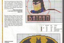 Knitting patterns / Superheroes