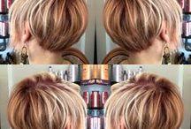 short blond hair pixie