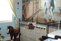 Gabbis room horses
