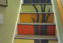 stair ideas / by Shannon Goodfellow