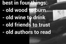 Thursday Thoughts Shared ... / Sharing worthy wine quotes each Thursday : )