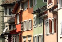 Charming facades / Where in the world can you see these absolutely gorgeous exteriors?