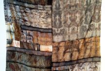 Cloth - dyed and distressed