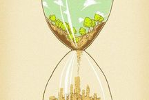 Hour Glass Illustrations
