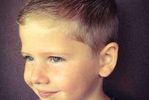 fiú frizura