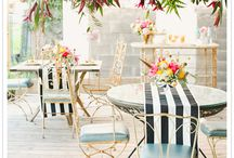 Chillouts/cocktail wedding inspiration