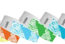 3/4 Inch Tyvek Wristband Designs