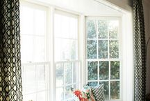 Ideas for the bay window