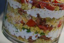 salad salad salad / by Patty Gappa-Hartley