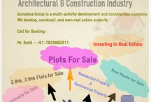 Investing in real estate in india / If you are finding the best place for investing in real estate in india, so we are offering the best commercial and residential property in India.