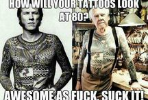 Tatted and happy / Tattoos and related tattoo stuff / by Jess The Villainess