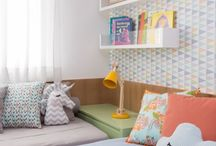Shared kid's bedroom