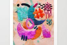 e m b r o i d e r y / #embroidery #embroideryartist #embroideryart