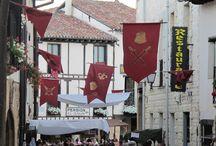 MERCADO MEDIEVAL Y FIESTA CEREZA  / Programa cultural Julio  y Mercado Medieval y Fiesta de la Cereza de Covarrubias, se celebra siempre segundo fin de semana de Julio