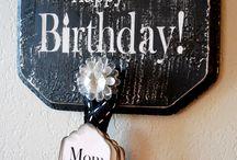 Birthdays / by Nancy Sutton Lindblom