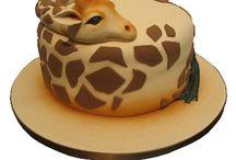 Animal themed cakes