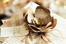 Christmas Paper Flower