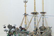 LEGO ship