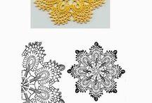 Szydełko/Crochet/ serwety/serwetki