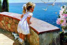 Children in Art / Painting