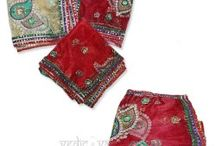 Chunris|Buy Chunris Online for Mata from Vedicvaani.com / Mata Chunris, Deity Cloth, God Altar Clothes, Chunrees, Colorful Chunris from India. A huge collection of beautiful and attractive chunris available at Vedic Vaani. Chunri is draped on head and shoulders like a scarf by women during marriage functions and ceremonies. It is draped around deity Idols and altars and thus made from auspicious colors.