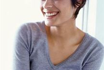 Hair style female short hair
