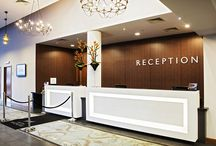 A Warm Welcome... / Make sure your guests feel at home the minute they step through the door with these welcoming hotel receptions...