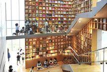 面白い素敵な図書館・本屋 / 他に類を見ない面白い書架を持つ図書館を集めました。