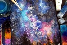 Галактическая живопись
