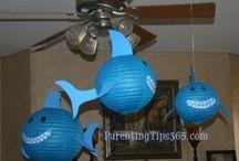 Shark party ideas