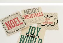 Gift tags freebies