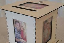 Wedding - gift envelope boxes