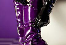 Purple Inspiration / All Things Purple-Feb. Phat Fiber Sampler Box theme inspiration!