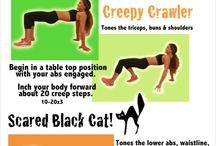 Holiday Workouts / Festive workouts in the spirit of Christmas, Halloween, Thanksgiving, etc. :)