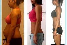 fitness girl before and after