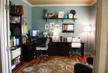Home Office Make Over  / by Sarah Enz