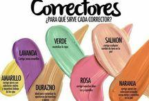 maquillaje correcciones