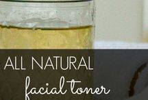 Natural Facials / Sometimes the best remedy for your skin is in your kitchen.