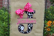 Monogramming Ideas / by Tracy Craddock